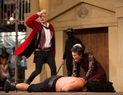 Capulet (Stephen Butterworth), Lady Capulet (Miriama McDowell)