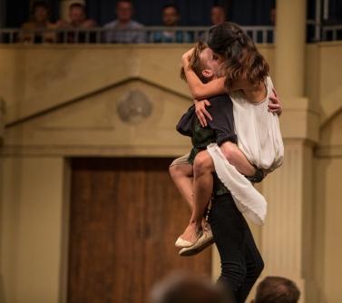 Romeo (Jonathan Tynan-Moss), Juliet (Christel Chapman)