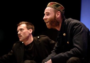 Agrippa (Robin Brockway), Enobarbus (Michael Quinlan)