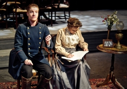 Tusenbach (Kieran Mortell), Olga (Ruth McMeel)