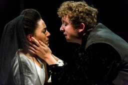 Mary (Aamira Challenger) and Melville (Jack Mosedale)
