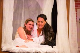 Desdemona (Jasmine Blackborow), Emilia (Roimata Fox)