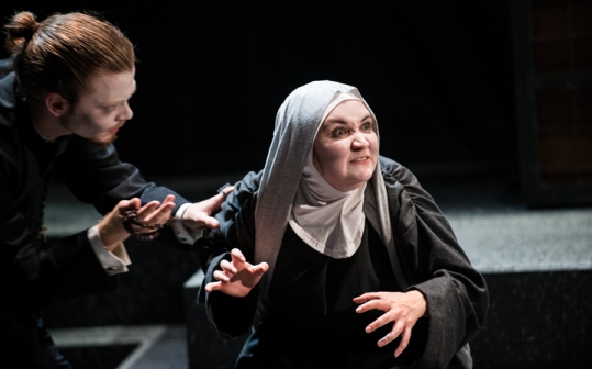 Father Tranquille (Alistair Bourne), Sister Jeanne (Georgia Bradley)