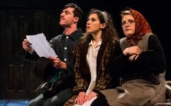 Yegor (Liam Elvish), Masha (Adi Lev), Serafima (Tess Ammerman)