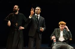 Father Yelpidi (Garry Summers), Aristarkh (Stanley Andrew Jackson III), Semyon (Jonathan Tynan-Moss)