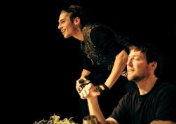 Scarus (Martino Rivas), Maecenas (George Bryan)