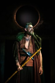 Belarius (Jonathan Dickson). Photo by Cameron Harle