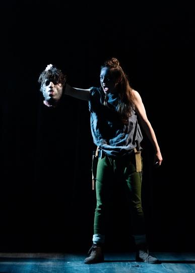 Guiderius (Zoë Clayton-Kelly). Photo by Patrick Baldwin